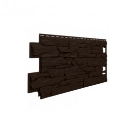 Цокольный сайдинг VOX Vilo Stone Темно-коричневый