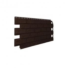 Цокольный сайдинг VOX Vilo Stone Кирпич Темно-коричневый