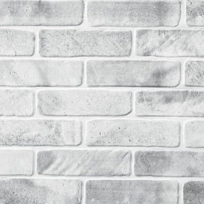 Панели ПВХ АртДекАрт Кирпич старый серый
