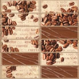 Панели ПВХ АртДекАрт Кофейные зерна