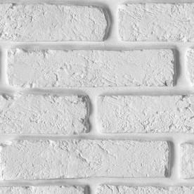 Панели ПВХ Decostar Элеганс New Кирпич белый 347, 2.5 м