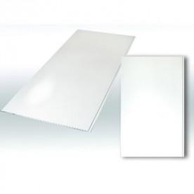 Панели ПВХ Decostar Альянс Белый глянец, (250:2700)