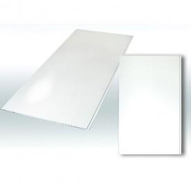 Панели ПВХ Decostar Альянс Белый глянец, (250:2500)