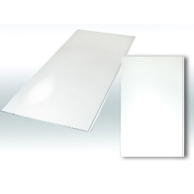 Панели ПВХ Decostar Альянс Белый глянец (250:6000)