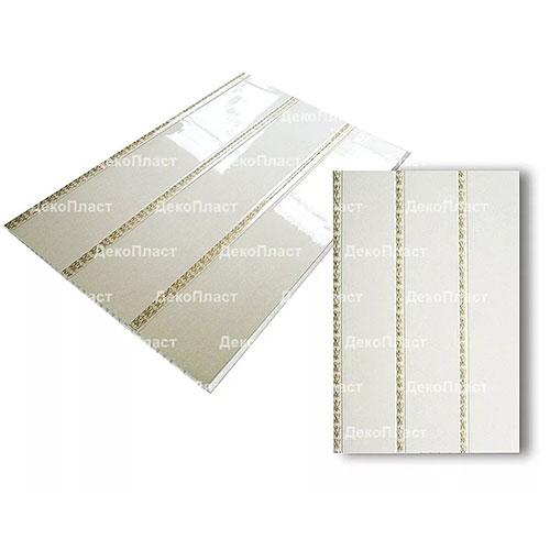 Панели ПВХ Decostar Люкс 3-х секционное Золото