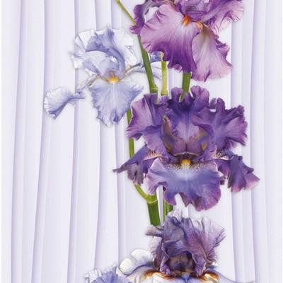 Панели ПВХ Европрофиль Ирис цвет, 2.7 м