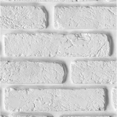 Панели ПВХ Европрофиль Белый кирпич, 2.5 м
