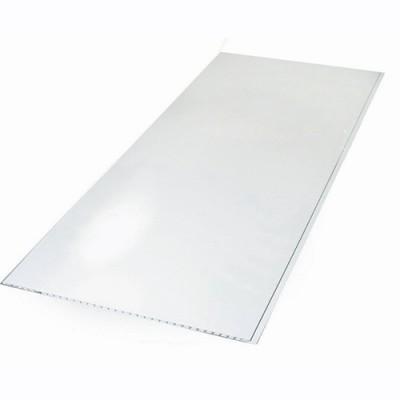 Панели ПВХ Европрофиль Белый лак, 2.5 м