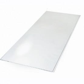 Панели ПВХ Европрофиль Белый лак, 2.7 м