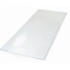 Панели ПВХ Пласт Декор Белый Глянец 0,25*2,5 м