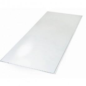 Панели ПВХ Пласт Декор Белый Глянец 0,25*2,7 м