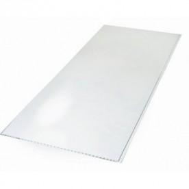 Панели ПВХ Пласт Декор Белый Глянец 0,25*6 м