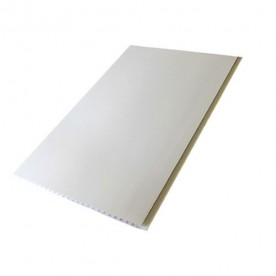 Панели ПВХ Пласт Декор Белая Матовая 0,25*2,5 м