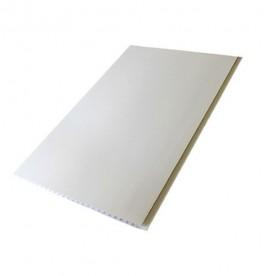 Панели ПВХ Пласт Декор Белая Матовая 0,25*6 м
