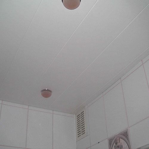 Панели ПВХ Пласт Декор Белая Матовая 2,5 м