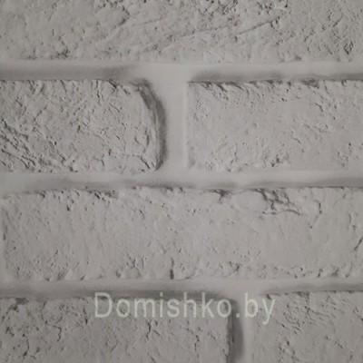 Панели ПВХ Пласт Декор Ассорти Белый кирпич 2,5 м