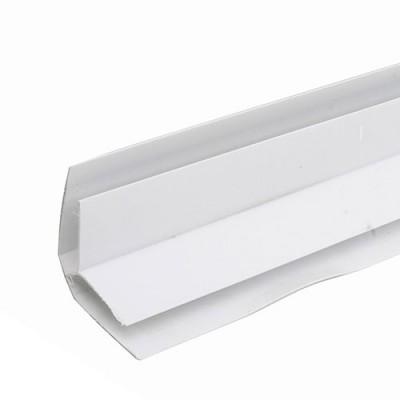 Угол внутренний Белый для ПВХ панелей