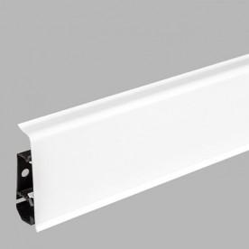 Плинтус напольный ПВХ Arbiton Indo 01 Белый блеск