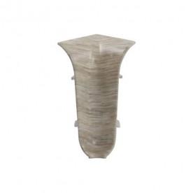 Угол внутренний для плинтуса ПВХ Wimar (в цвет плинтуса)