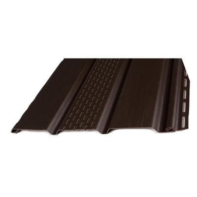 Софит Docke Simple Бренди (коричневый) с частичной перфорацией