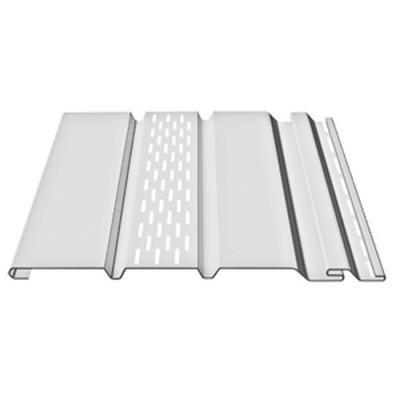 Софит Docke Premium Т4 Пломбир (белый) с частичной перфорацией