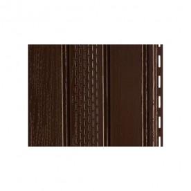 Софит Docke Т4 Шоколад (коричневый) с частичной перфорацией
