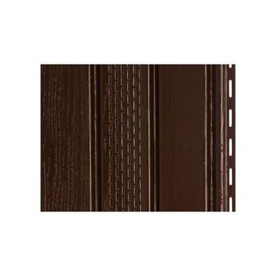 Софит Docke Premium Т4 Шоколад (коричневый) с частичной перфорацией