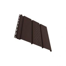 Софит VOX Темно-коричневый с частичной перфорацией