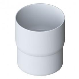 Муфта трубы Альта-Профиль Элит белая