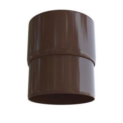 Муфта трубы Альта-Профиль Элит коричневая