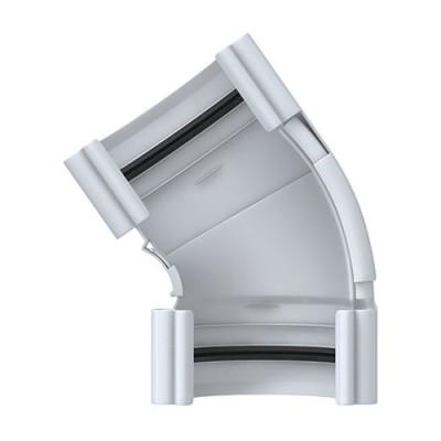Угол желоба Альта-Профиль Элит 120-145° белый