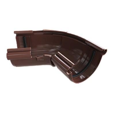 Угол желоба Альта-Профиль Элит 120-145° коричневый