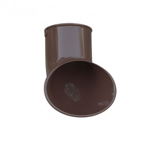 Слив трубы Альта-Профиль Элит коричневый