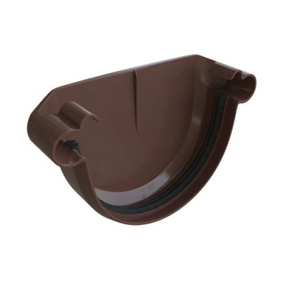 Заглушка Альта-Профиль Элит коричневая