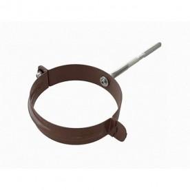Хомут трубы Альта-Профиль Стандарт коричневый металл