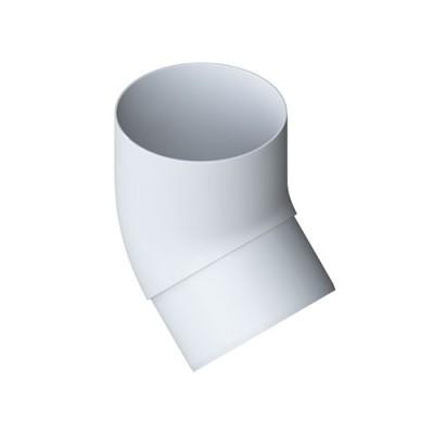 Колено трубы Альта-Профиль Стандарт 45 град. белое