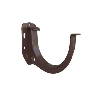 Кронштейн желоба Альта-Профиль Элит коричневый ПВХ