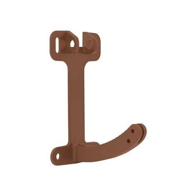 Кронштейн поворотный Альта-Профиль Стандарт коричневый