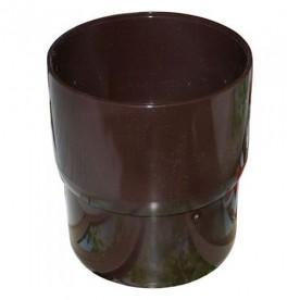 Муфта трубы Альта-Профиль Стандарт коричневая