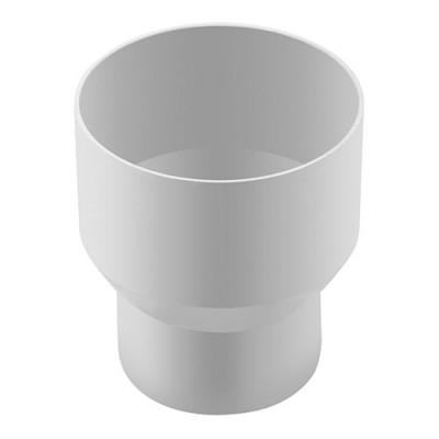 Муфта трубы Альта-Профиль Стандарт переходная белая
