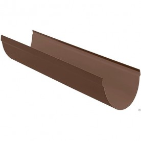 Желоб Альта-Профиль Стандарт коричневый 3 м.