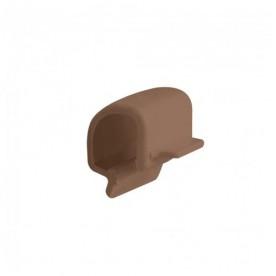 Клипса желоба Альта-Профиль Стандарт коричневая