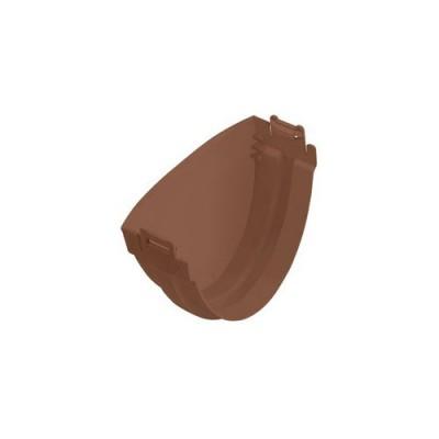 Заглушка Альта-Профиль Стандарт коричневая