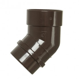 Колено Docke Lux 45° шоколад