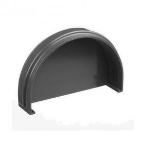 Заглушка желоба Docke Premium графит