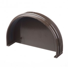 Заглушка желоба Docke Standart шоколад