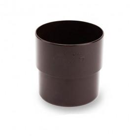 Муфта Galeco ПВХ 110/80 темно-коричневая