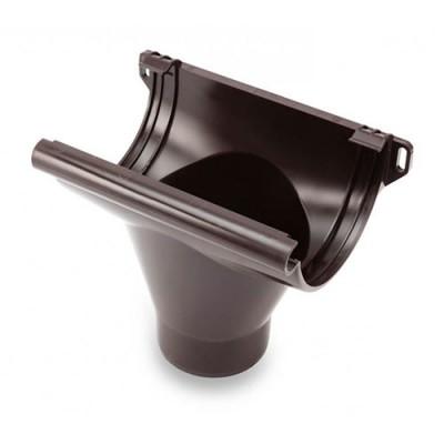 Воронка Galeco ПВХ 110/80 80 мм темно-коричневая