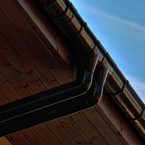 Кронштейн Galeco ПВХ 130/100 темно-коричневый