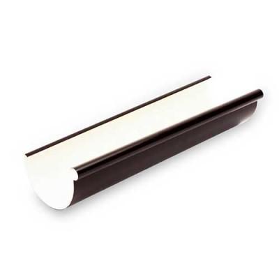 Желоб Galeco ПВХ 90/50 2 м темно-коричневый